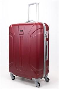 Чемодан большой ABS Ananda (3 полосы) бордовый