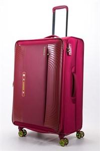 Чемодан текстильный большой ultra lightweight mironpan красный