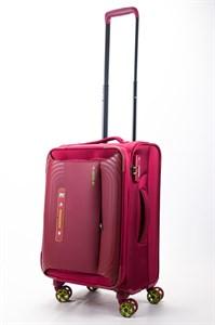 Чемодан маленький текстильный ultra lightweight mironpan красный